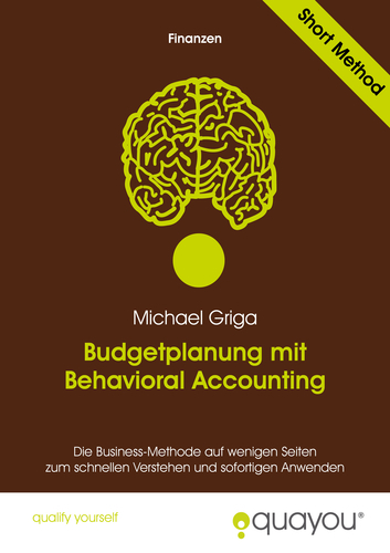 Budgetplanung mit Behavioral Accounting (E-Book, PDF) | Bücher Sievert