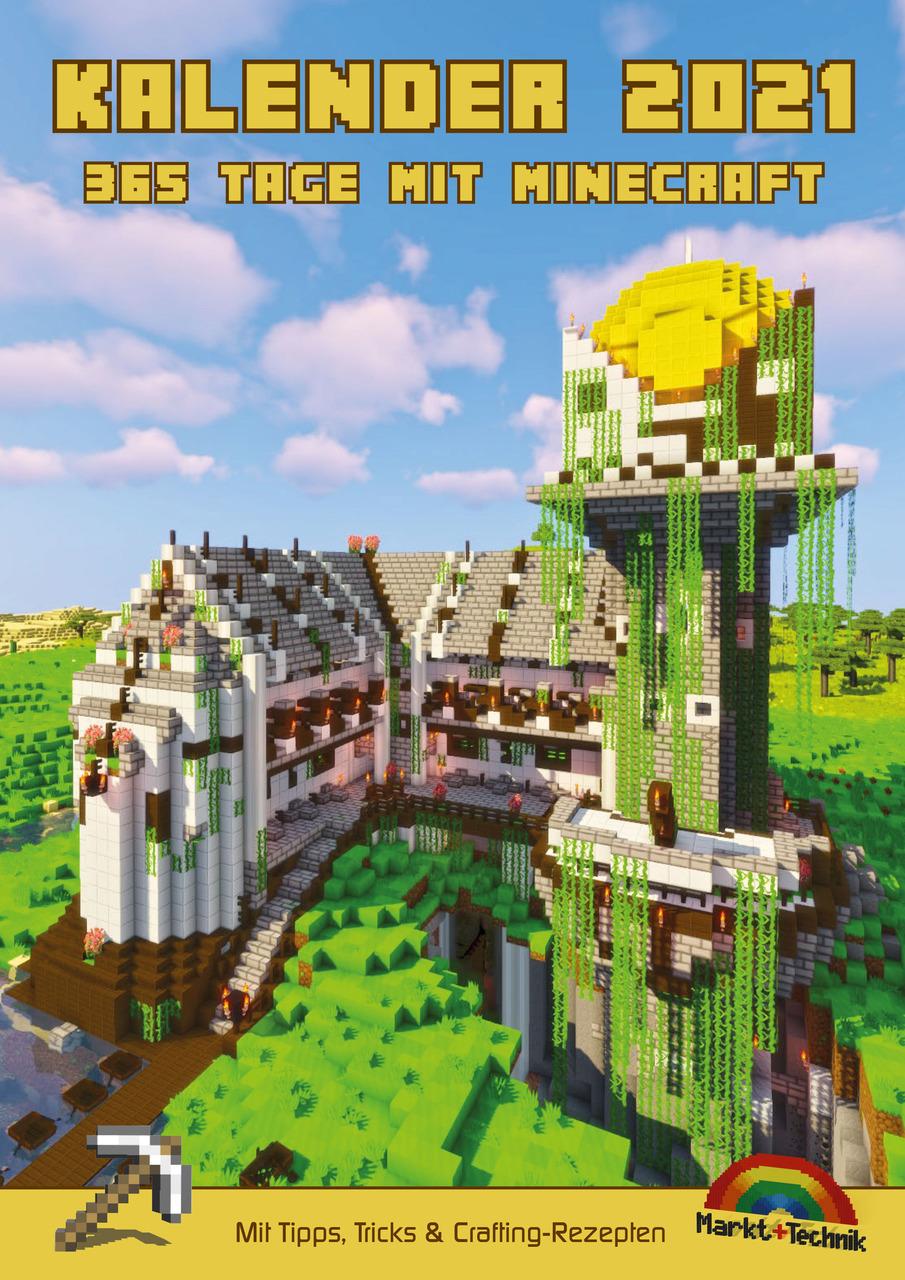 8 Tage mit Minecraft 8 von David Haberkamp (Spiralbindung)