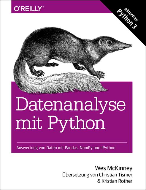 Datenanalyse mit Python von Wes McKinney (E-Book, PDF)