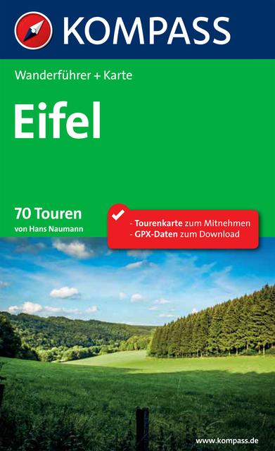 Eifel Karte Pdf.Kompass Wanderführer Eifel E Book Pdf Buchkontor Teltow