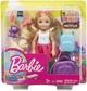 Barbie - Reise Chelsea Puppe und Zubehör