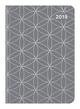 Midi Flexi Diary Gray Silver 2019
