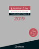 Creative Line Bastelkalender Tischaufsteller hoch Schwarz 2019