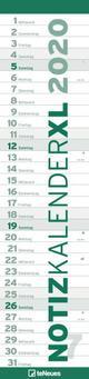 Notizkalender XL GRÜN 2020