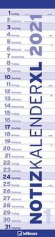 Notizkalender XL Blau 2021
