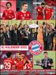 FC Bayern München 2022 - Poster-Kalender-XL - Fan-Kalender - Fußball-Kalender - 48x64 - Sport