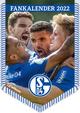 FC Schalke 04 2022 - Bannerkalender - Fan-Kalender - Fußball-Kalender - Wand-Kalender - 29,7x42 - Sport