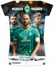 Werder Bremen 2022 - Trikotkalender - Fankalender - Fußball-Kalender - 34,1x42 - Sport