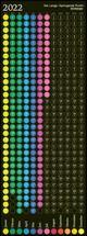 Der Lange Springende Punkt schwarz 2022 36x98