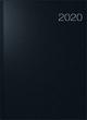 rido/idé Buchkalender Modell Conform, Balacron-Einband, schwarz 2020