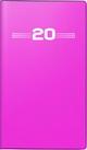 rido/idé Faltkalender Modell Miniplaner d 15, Kunststoff-Einband, pink 2020