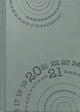 rido/idé Buchkalender Chefplaner, Kunstleder-Einband Trend, Compass, grau 2021