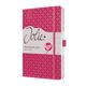 Jolie Flair Wochenkalender Fuchsia Pink A5 2021