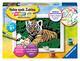 Ravensburger Malen nach Zahlen 29605 - Süßer Tiger - Kinder ab 9 Jahren