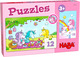 Puzzles - Einhorn Glitzerglück: Rosalie & Friends