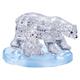Crystal Puzzle: Eisbärenpaar