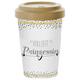 Travel Mug Bamboo 'Vollzeit-Prinzessin'