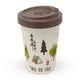 Travel Mug Bamboo 'Into the Wild'