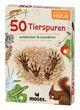 50 Tierspuren entdecken & zuordnen