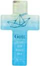 Acrylglas-Kreuz - Gott segne und behüte dich