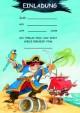 Einladungsset 'Piraten'