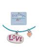 Segensarmbändchen - LOVE und Herz