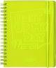 Schülerkalender Yellow Light Up A6 2020/2021