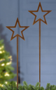 Gartenstecker 'Stern'
