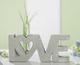 Zement-Relief 'Love'