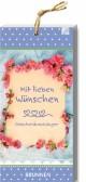 Geschenkanhänger 'Mit lieben Wünschen'