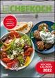 CHEFKOCH Wochenkalender 2022 - Küchen-Kalender - mit Notizfeld - pro Woche 1 Rezept - Format DIN A4 - Spiralbindung