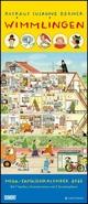 Wimmlingen 2022 - Mega-Familienkalender mit 7 Spalten - Mit 2 Stundenplänen und Ferientabelle - Hochformat 30,0 x 70,0 cm