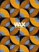 WAX Geschenkpapier-Heft - Motiv: Orange-blaue Kreise