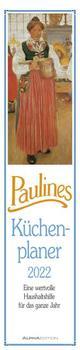 Paulines Küchenplaner 2022 - Streifenplaner - Wandplaner - Küchen-Kalender - 11,3x49,5