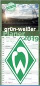 Grün-weißer Planer - SV Werder Bremen 2019