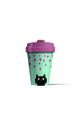 Bamboo Cup 'Kitty Love'