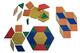 40 geometrische Legeplättchen
