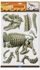 Wandsticker 3D-Dino