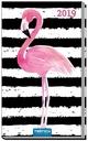 Taschenterminer Flamingo 2019