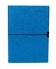 Taschenkalender Gummiband blau A6 2019