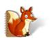 Peter & Piet. Notizblock Fuchs