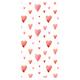 Bandana - Watercolor Hearts