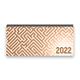 Tischkalender 2022 XL - Labyrinth, braun
