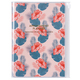 Diary A5 vertical Wild Pattern, Flower 2018/2019