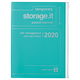 Diary A5 vertical Storage.it, Turquoise 2019/2020