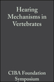 Hearing Mechanisms in Vertebrates