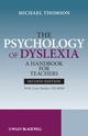 The Psychology of Dyslexia