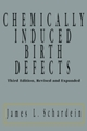 Chemically Induced Birth Defects