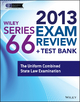 Wiley Series 66 Exam Review 2013 + Test Bank