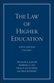 The Law of Higher Education, A Comprehensive Guide to Legal Implications of Administrative Decision Making